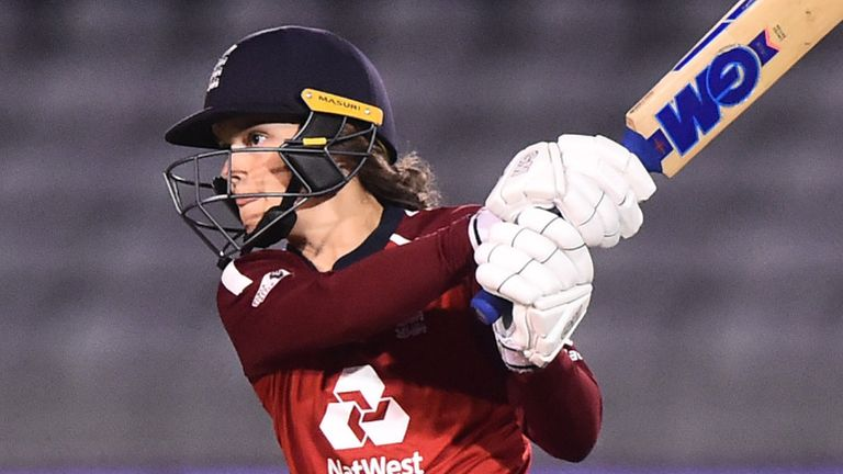 Amy Jones, England Women, T20 vs West Indies at Derby