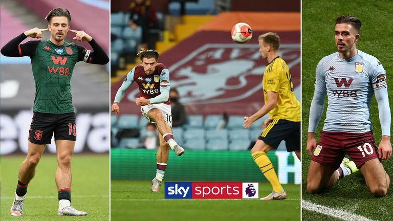 Watch some of the highlights of Jack Grealish's 2019/20 Premier League season