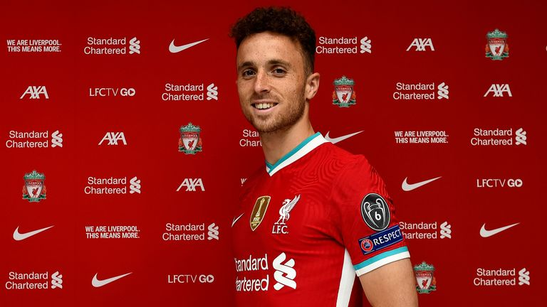 Liverpool unveil new signing Diogo Jota