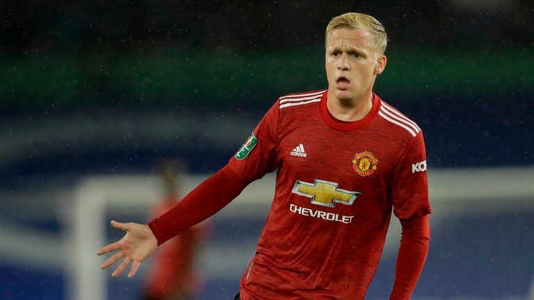 Dharmesh Sheth explains on the Pitch to Post Review podcast why Van de Beek's lack of playing time at United may be down to circumstance, and not his quality