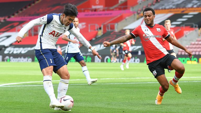 Heung-Min Son equalises for Spurs