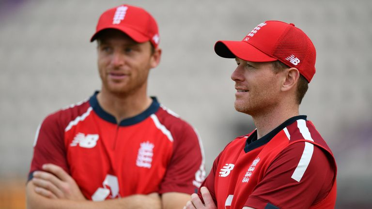 Jos Buttler and Eoin Morgan