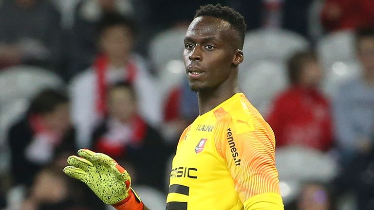 Edouard Mendy follows in Petr Cech's footsteps by moving from Rennes to Chelsea
