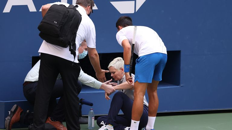 Novak Djokovic said the incident which led to his US Open disqualification 'could have happened before' during his trophy-laden career, but he now has to move on from it