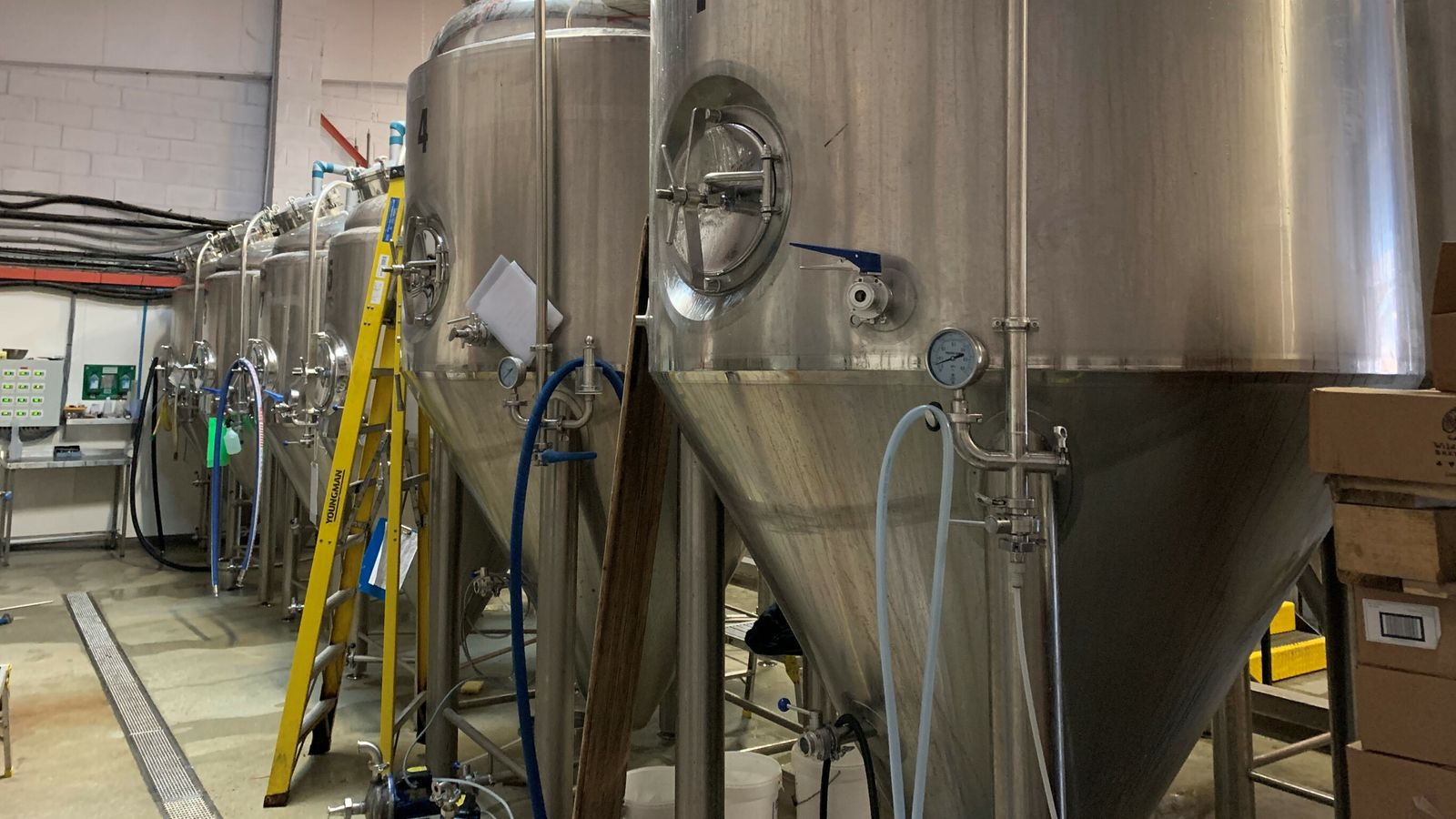 Small breweries warn 'reverse Robin Hood tax system' putting jobs at risk