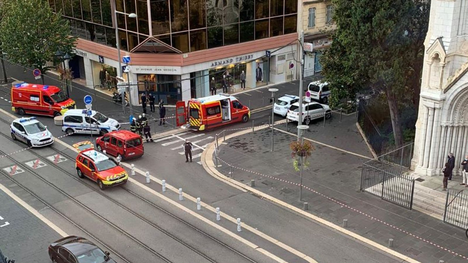 Two dead in 'suspected terror attack' in Nice