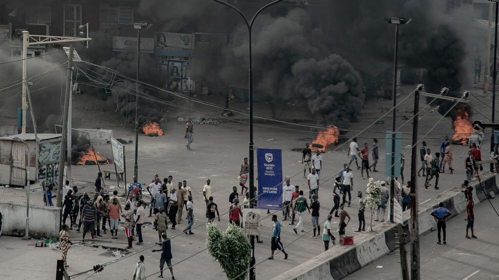 At least 12 people were killed when government forces fired upon protesters during anti-police brutality demonstrations in Nigeria, Amnesty International has claimed