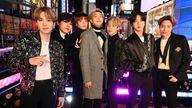 K-pop band BTS in 2020