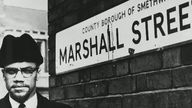 Malcolm X described Marshall Street as 'worse than the United States'