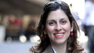 """Undated family handout file photo of Nazanin Zaghari-Ratcliffe whose husband, Richard has said that Iran's alleged use of prisoners as """"collateral"""" over a multi-million pound dispute with the UK is """"completely outrageous."""