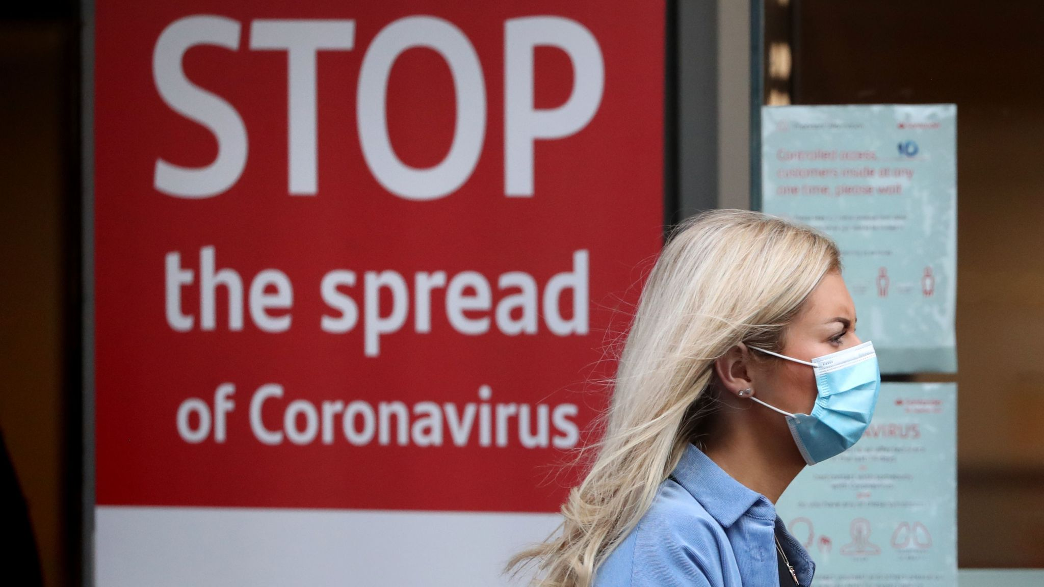 Covid 19 Uk Records Another 27 301 Coronavirus Cases And 376 Deaths Uk News Sky News