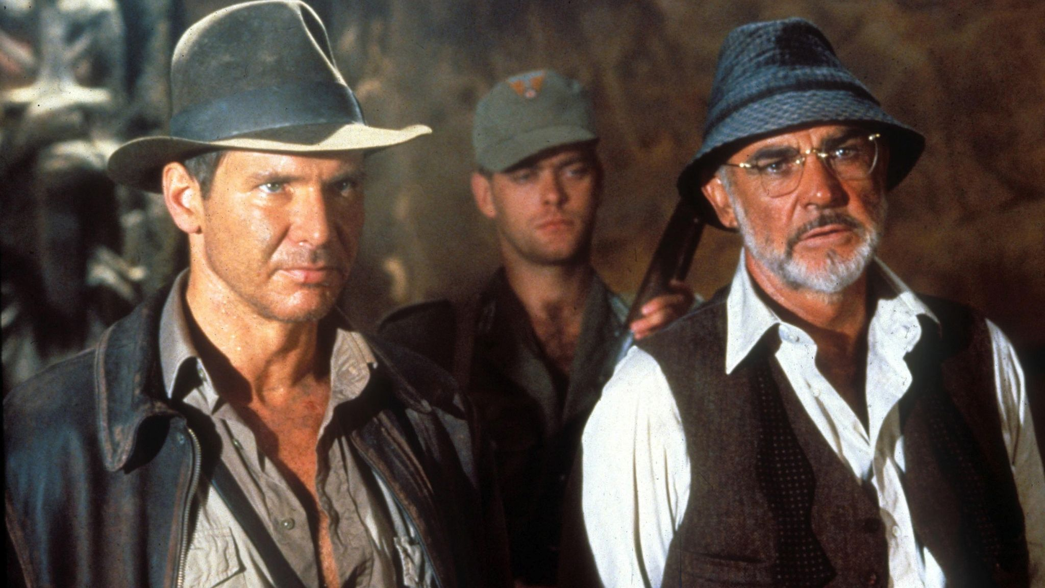 Sean Connery: Harrison Ford pays tribute to his Indiana Jones father and  'dear friend' | Ents & Arts News | Sky News