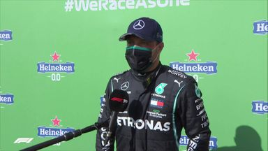 Bottas pipped to pole by Hamilton