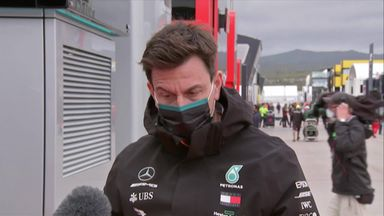 Wolff: Hamilton's record is 'surreal'