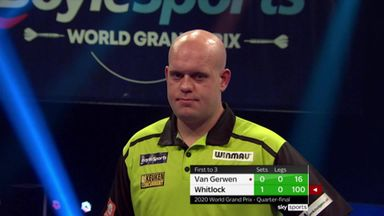 Whitlock's double double stuns MVG