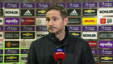 Lampard: We should've had a clear penalty