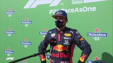 Verstappen happy with P3
