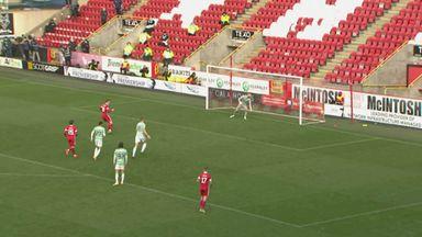 Aberdeen score last-minute equaliser