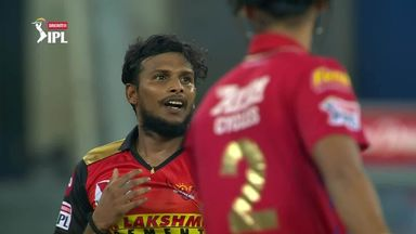 IPL: Sunrisers vs Kings XI highlights