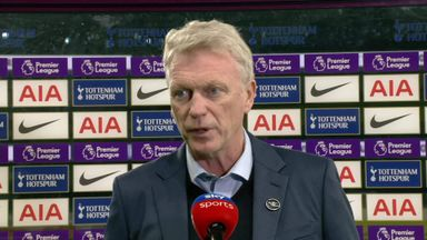 Moyes: We didn't lose belief