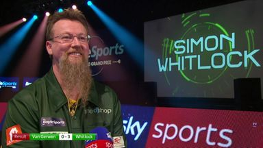 Whitlock: I didn't even expect to be here!