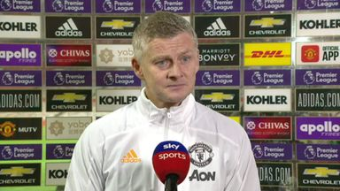 Solskjaer: Fans in the Stretford End would help
