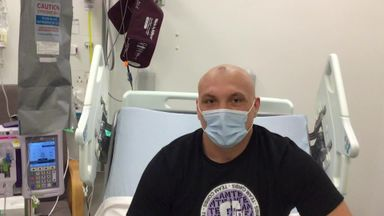 Alex Corbisiero's cancer fight