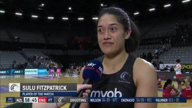 Fitzpatrick named player of the match