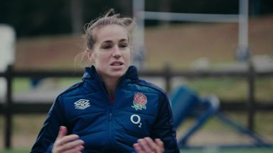 In camp with Emily Scarratt