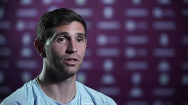 Martinez: Villa is a step up for me