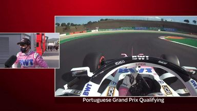 Perez qualifies fifth in Portimao