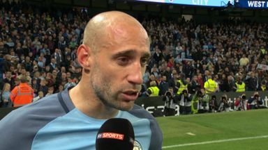 Flashback: Zabaleta's emotional goodbye