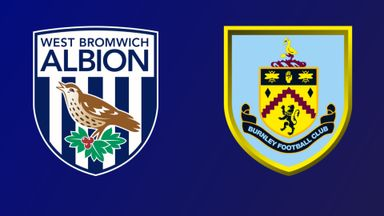 West Brom v Burnley