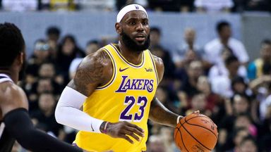 NBA Play-offs: Denver @ LA Lakers