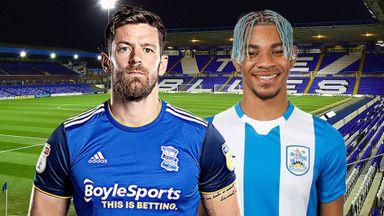 EFL Hlts:Birmingham v Huddersfield