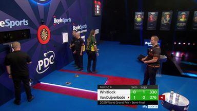 Whitlock's slow play upsets Van Duijvenbode