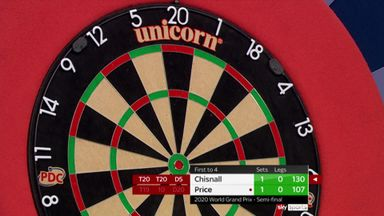 Chisnall's superb 130 checkout