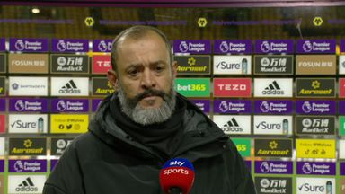 Nuno unhappy with goal conceded
