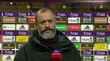 Nuno unhappy with goal conceded