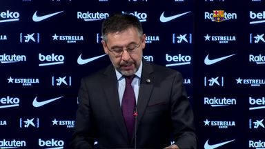 Bartomeu resigns at Barcelona