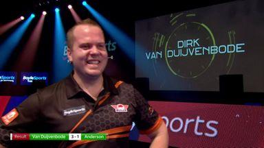 Van Duijvenbode: Biggest win of my career