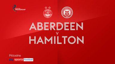 Aberdeen 4-2 Hamilton