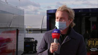 Rosberg: Bottas sent a message to Lewis