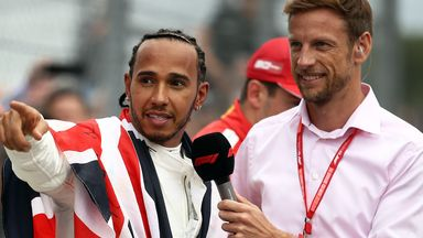 Button salutes Hamilton's 'extraordinary' record