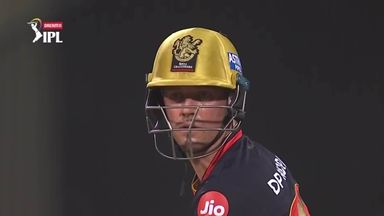 De Villiers hits six into the street!