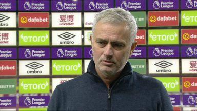 Mourinho praises Kane's selflessness