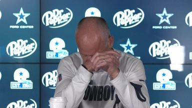 Cowboys coach's hot sauce mishap!