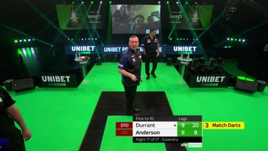 Durrant beats Anderson in decider