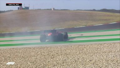 Leclerc goes for a spin!
