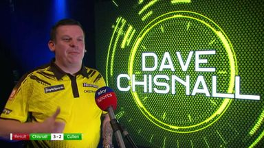 Chisnall: I deserved to win